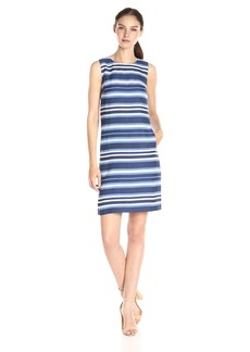 Tommy Hilfiger Women's Denim Sailing Stripe Shift Dress