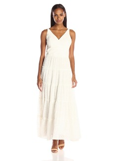 Tommy Hilfiger Women's Diamond Burnout Maxi Dress