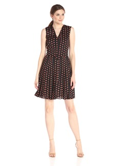 Tommy Hilfiger Women's Drop Dot Shirt Dress