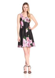 Tommy Hilfiger Women's Duchess Floral Dress