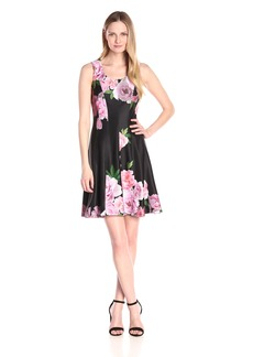 Tommy Hilfiger Women's Duchess Floral Dress