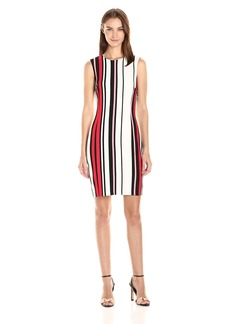 Tommy Hilfiger Women's East Hampton Stripe Sheath Dress
