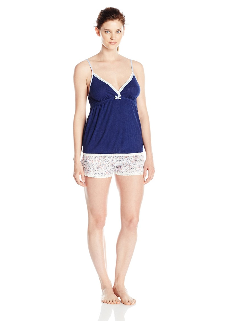 Tommy Hilfiger Women's Empire Cami and Tap Short