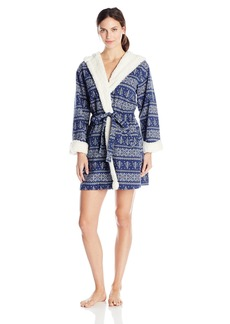 Tommy Hilfiger Women's French Terry Hooded Robe