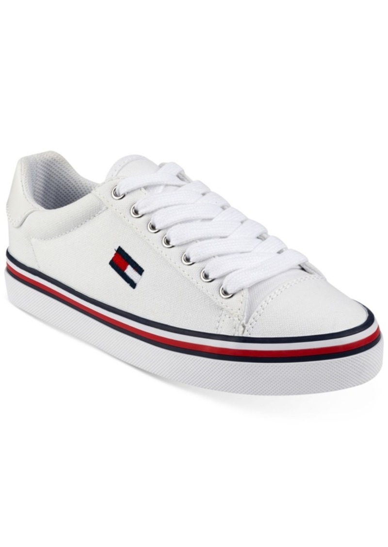 6aa72550c12fb Tommy Hilfiger Tommy Hilfiger Women s Fressian Lace-Up Sneakers ...