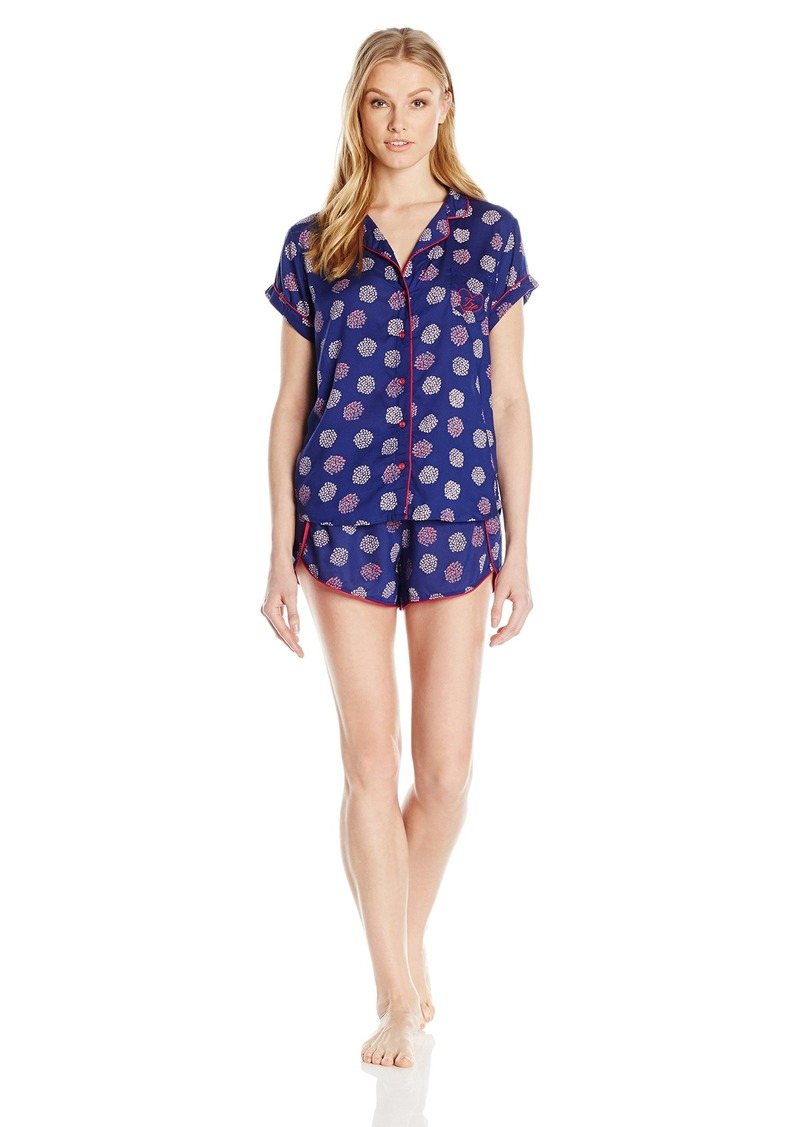 Tommy Hilfiger Women's Girlfriend Top & Short Pj