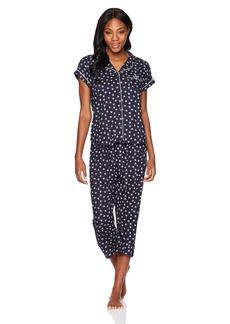 Tommy Hilfiger Women's Girlfriend Top and Pant Bottom Pajama Set PJ  L