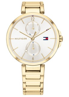 Tommy Hilfiger Women's Gold-Tone Stainless Steel Bracelet Watch 36mm