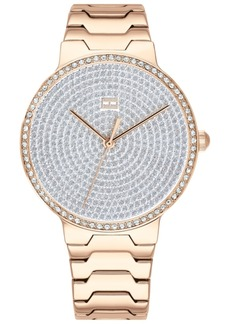 Tommy Hilfiger Women's Gold-Tone Stainless Steel Bracelet Watch 36mm, Created for Macy's