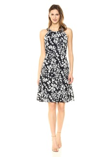 Tommy Hilfiger Women's Halter Neck lace Dress