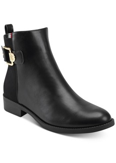 Tommy Hilfiger Women's Inella Mixed-Media Booties Women's Shoes