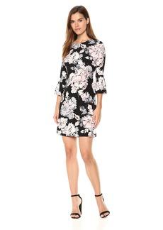 Tommy Hilfiger Women's Jersey Bell Sleeve Dress