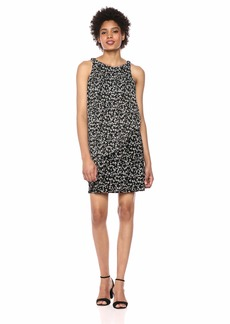 Tommy Hilfiger Women's Jersey Chiffon Printed Dress