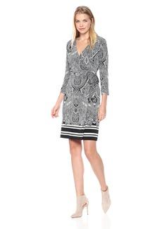 Tommy Hilfiger Women's Jersey Faux Wrap Dress