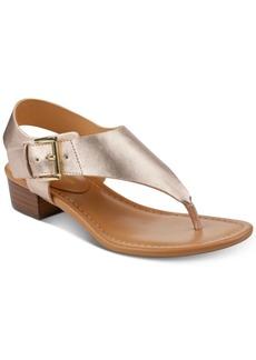 Tommy Hilfiger Women's Kitty Block Heel Sandals Women's Shoes