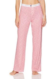 Tommy Hilfiger Women's Logo Pajama Pant  L