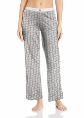 Tommy Hilfiger Women's Logo Pajama Pant Lounge Bottom Pj