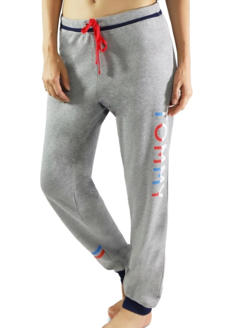 Tommy Hilfiger Women's Logo-Print Lounge Jogger Pants