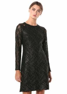 Tommy Hilfiger Women's Long Sleeve A-line Lace Dress