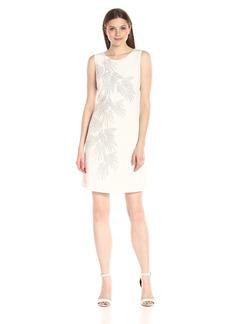 Tommy Hilfiger Women's Matte Jersey Palm Hot Fix Dress
