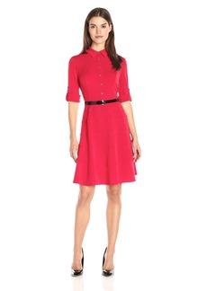 Tommy Hilfiger Women's Matte Jersey Swing Dress
