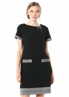 Tommy Hilfiger Women's Menswear Pocket Shift Dress