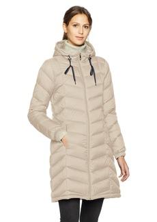 Tommy Hilfiger Women's Mid Length Packable Down Chevron Quilt Coat