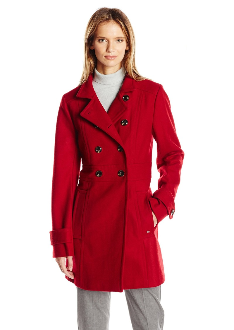 good looking meet fashion Women's Mid-Length Wool Peacoat XS