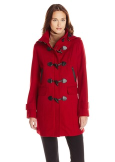 Tommy Hilfiger Women's Missy Wool Duffle Coat