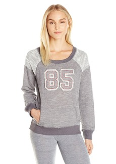 Tommy Hilfiger Women's Mixed Terry Sweatshirt