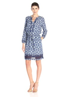 Tommy Hilfiger Women's Moroccan Burnout Tunic Dress