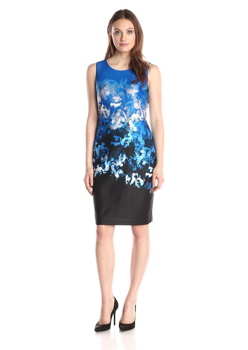 44c2069a297 Tommy Hilfiger Tommy Hilfiger Women's Cut Out Floral Scuba Dress ...