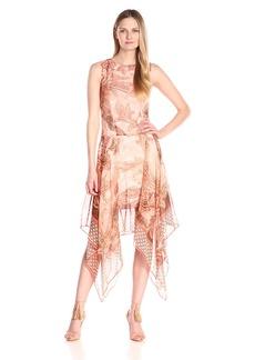 Tommy Hilfiger Women's Paisley Chiffon Dress
