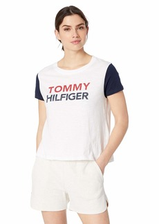 Tommy Hilfiger Women's Pajama Top with TH Logo