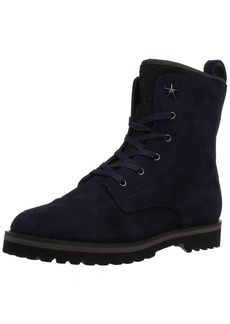 Tommy Hilfiger Women's Palmyr Combat Boot  8 Medium US