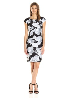 Tommy Hilfiger Women's Parrot Tulip Scuba Dress