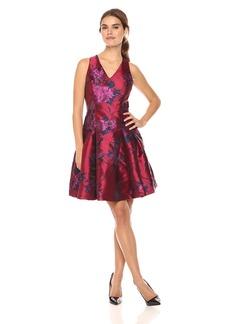 Tommy Hilfiger Women's Peony Jaquard Sleeveless Dress