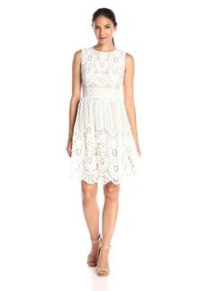 Tommy Hilfiger Women's Pineapple Lace Dress