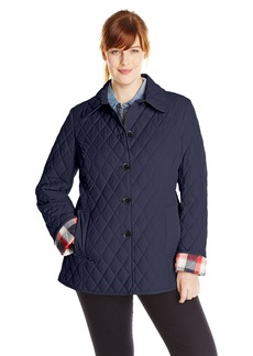Tommy Hilfiger Women's Plus-Size Classic Quilted Jacket