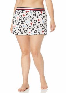 Tommy Hilfiger Women's Plus Size Lounge Short Bottom Pajama Pj