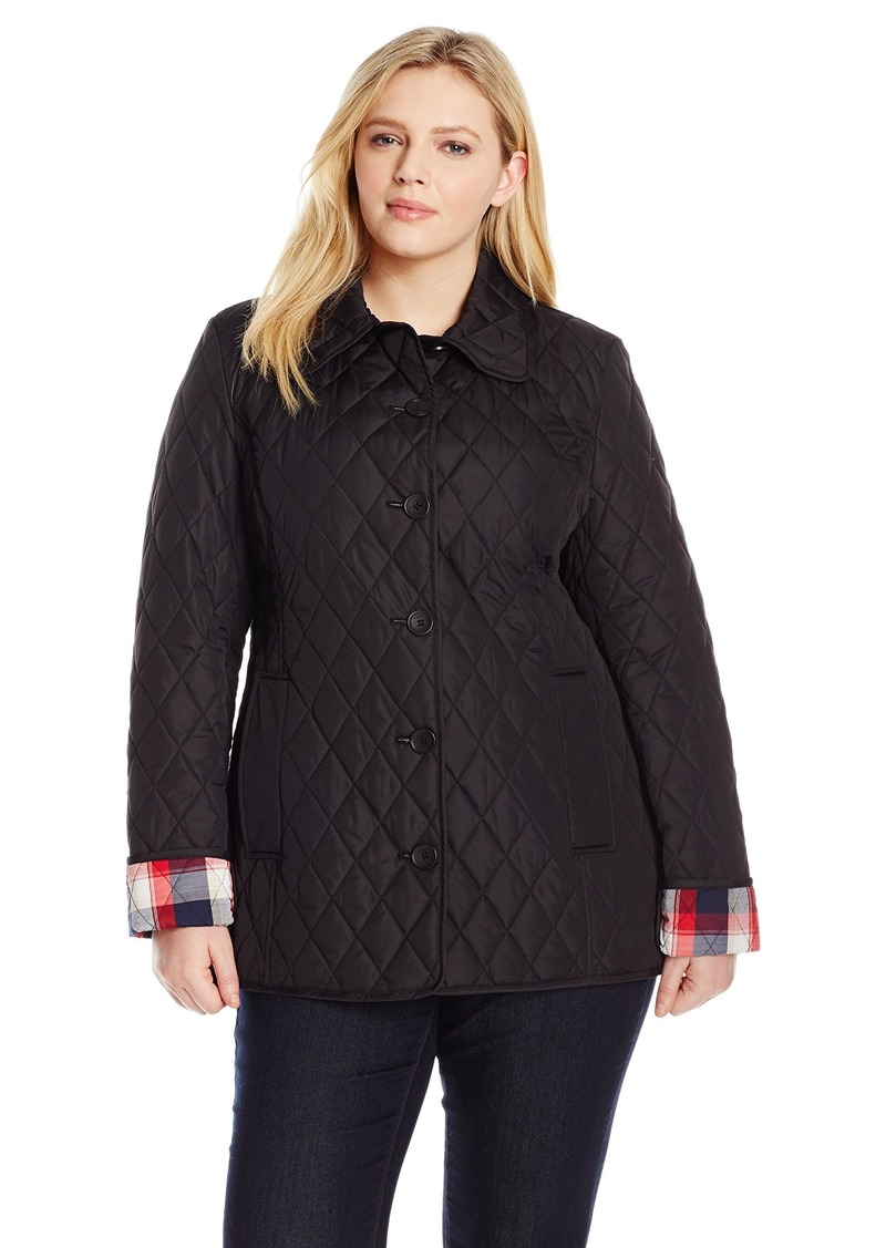 192c9dc3c7e Tommy Hilfiger Tommy Hilfiger Women s Plus-Size Quilted Jacket ...
