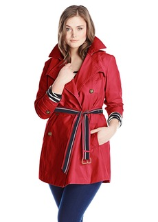 Tommy Hilfiger Women's Plus-Size Trench Coat