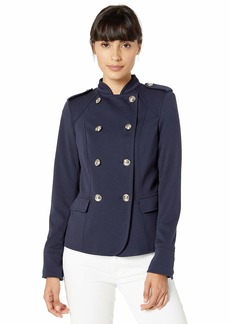 Tommy Hilfiger Women's Ponte Military Jacket