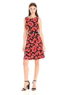 Tommy Hilfiger Women's Popette Print Swing Dress