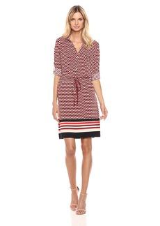 Tommy Hilfiger Women's Printed Quartersleeve Dress