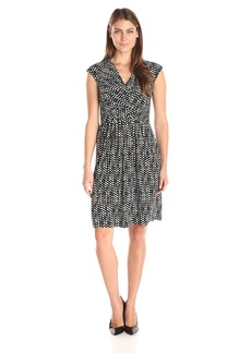 Tommy Hilfiger Women's Printed Short Sleeve Dress