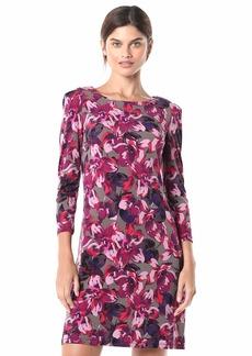 Tommy Hilfiger Women's Quarter Sleeve A-line Jersey Dress