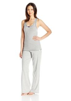 Tommy Hilfiger Women's Rib Tank / Logo Pant Set