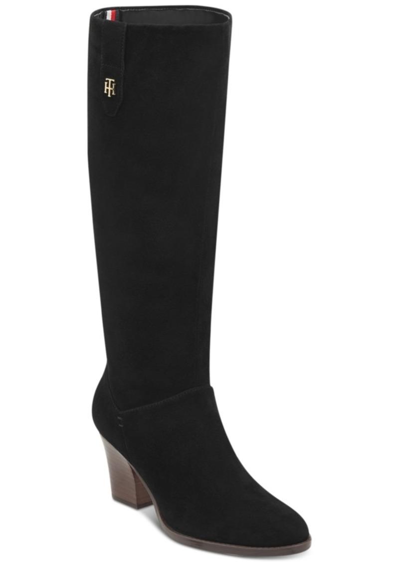 0e31a310a SALE! Tommy Hilfiger Tommy Hilfiger Women s Rosario Block Heel Boots ...