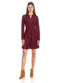 Tommy Hilfiger Women's Roxy Burnout Shirt Dress